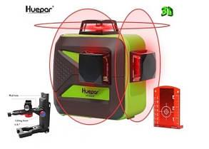☀ ПРОФИ-НИВЕЛИР ☀ Лазерный уровень Huepar 3D HP-603CR ➤ магнитный кронштейн Fukuda ➤