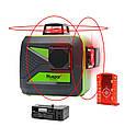 ☀ЯРКИЙ ЛУЧ☀ Лазерный уровень Huepar 3D HP-603CR ➤ + распорная штанга ➤, фото 2