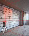 ☀ЯРКИЙ ЛУЧ☀ Лазерный уровень Huepar 3D HP-603CR ➤ + распорная штанга ➤, фото 4