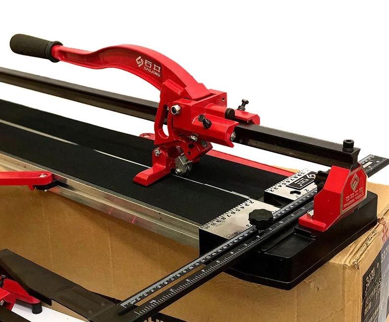 Плиткоріз ручний рейковий монорельсовий DIAM ProLine SHIJING 800 мм + лазер