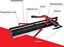 Плиткоріз ручний рейковий монорельсовий DIAM ProLine SHIJING 800 мм + лазер, фото 4