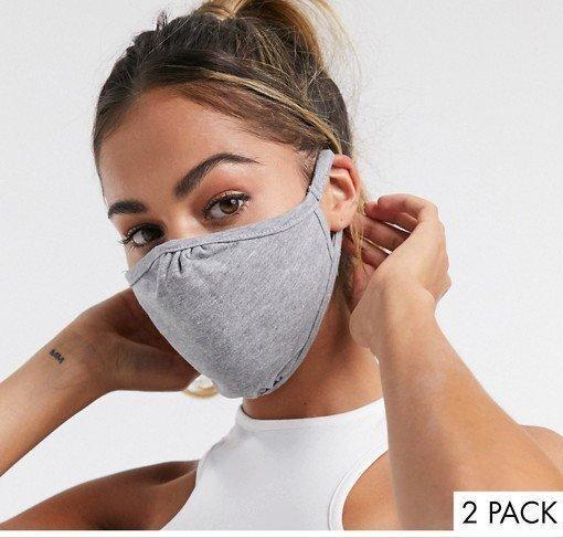 Многоразовая защитная маска для лица серая. От 10шт по 7грн.