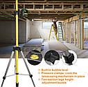 Втулка штанга штатив Huepar для лазерного рівня 3.7 м ✔ ↘↘↘краще Bosch TT 320↘↘↘, фото 7
