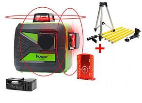 ☀Лазерный уровень Huepar 3D HP-603CR ➤ распорная штанга-штатив 3.7 м HUEPAR➤
