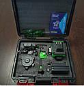 ᐉТОП КОМПЛЕКТ!!! Лазерний рівень XEAST XE-94D 16линий + д. у. ПУЛЬТ + 2 акб + кронштейн + підставка + кейс, фото 2