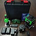 ᐉЗЕЛЕНЫЙ ЛУЧ! Лазерный уровень XEAST XE-93Т 16линий + д.у. ПУЛЬТ + ШТАТИВ в подарок, фото 2