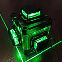 ᐉЗЕЛЕНЫЙ ПРОМІНЬ! Лазерний рівень XEAST XE-94D 16линий + д. у. ПУЛЬТ + ШТАТИВ в подарунок, фото 5
