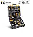 Набір інструментів DEKO DKMT168 для будівельників, автослюсарів, сантехніків, для дому, фото 5