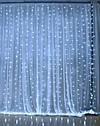 ᐉLEDᐉᐉ Гирлянда водопад штора 3х2,5 м теплый белый или холодный белый цвет, фото 4
