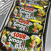 Самые кислые леденцы Токсик Вейст смог боллы Toxic Waste Smog Balls Bag 48 г