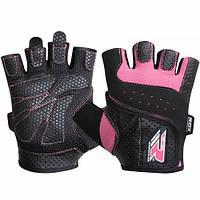 Перчатки для фитнеса женские RDX Pink L, фото 1