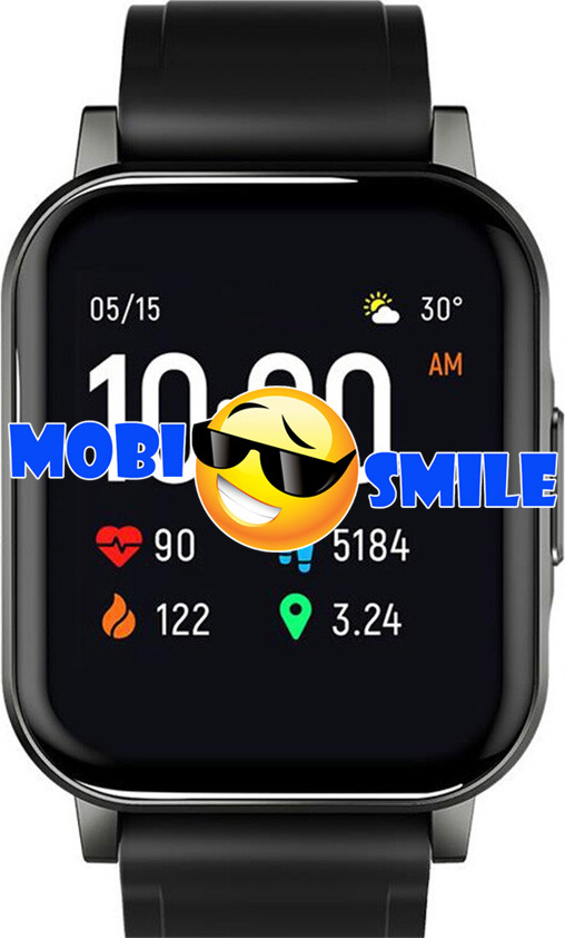 Часы Smart watch Haylou LS02 Black Гарантия 12 месяцев