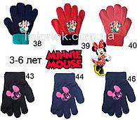 Демісезонні рукавички Мінні Маус від Disney 3-6 років