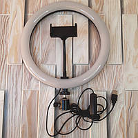 Кольцевая светодиодная Led Лампа 26 см с держателем для телефона Селфи кольцо (Оригинальные Фото)