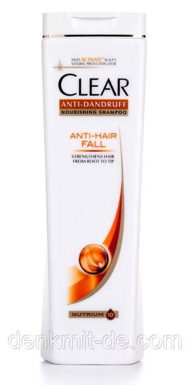 Clear шампунь против перхоти Защита от выпадения волос 400 мл
