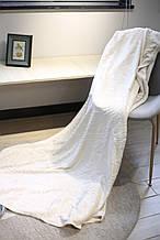 Плед з мікрофібри Bella Villa 180х200 см білий