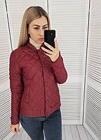 Куртка женская 310, весна - осень, бордо / бордового цвета, фото 1