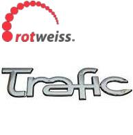 """Напис """"TRAFIC"""" (задні двері) на Renault Trafic (2001-2014) Rotweiss (Туреччина) RWS8200112599"""