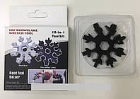 Мультитул-снежинка 18 в 1 - многофункциональный инструмент (отвертка, шестигранник, гаечный ключ), фото 1
