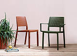 Крісло Emi з підлокітниками  SCAB antracite, фото 4