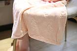 Плед флисовый Bella Villa 200х220 см нежно-розовый, фото 2