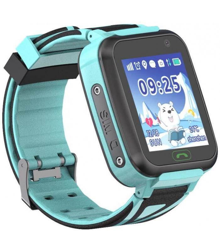 Часы Smart Watch SK-009/TD-16 Kids GSM/GPS/кнопка SOS/IP67 light blue Гарантия 1 месяц