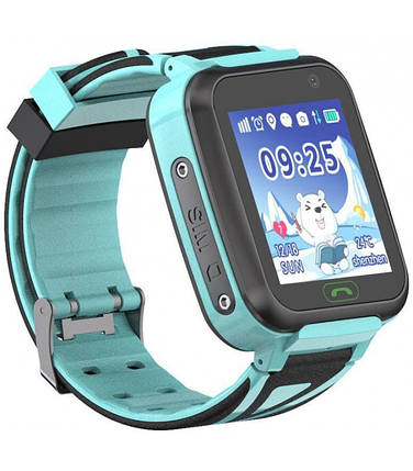 Часы Smart Watch SK-009/TD-16 Kids GSM/GPS/кнопка SOS/IP67 light blue Гарантия 1 месяц, фото 2