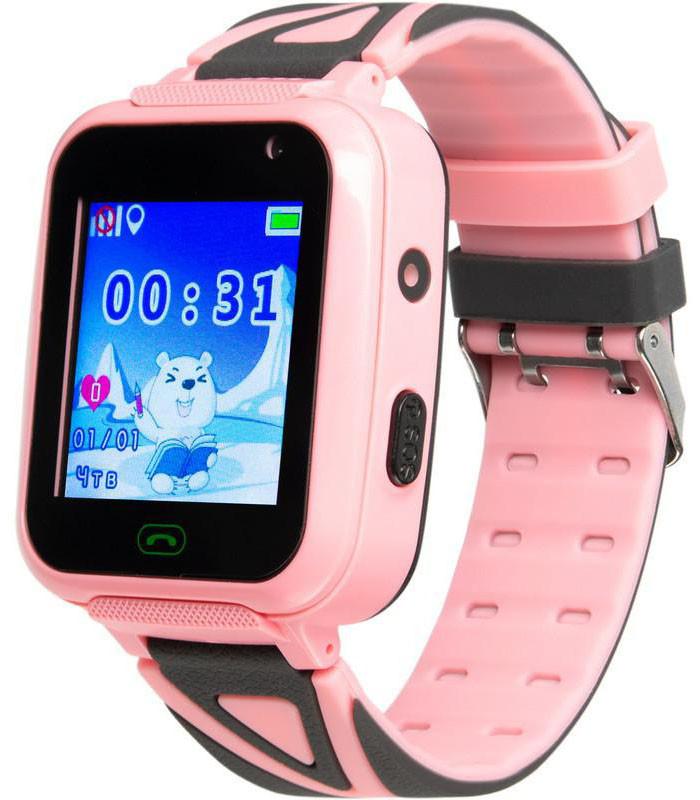 Часы Smart Watch SK-009/TD-16 Kids GSM/GPS/кнопка SOS/IP67 pink Гарантия 1 месяц