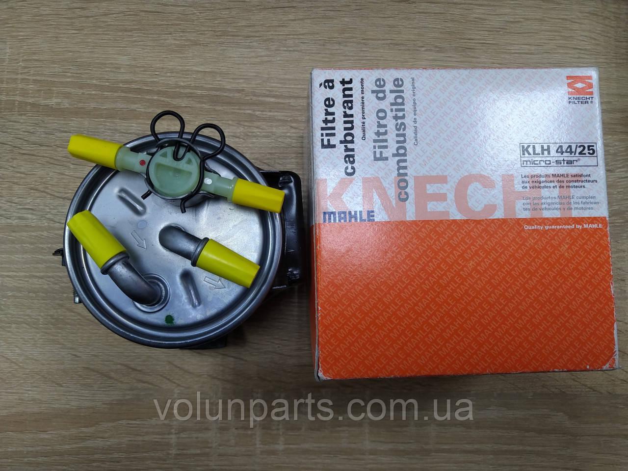 Паливни фільтр MEGANE 2 / SCENIC 2 / GRAND SCENIC 2 (KNECHT/MAHLE KLH 44/25) під датчік води
