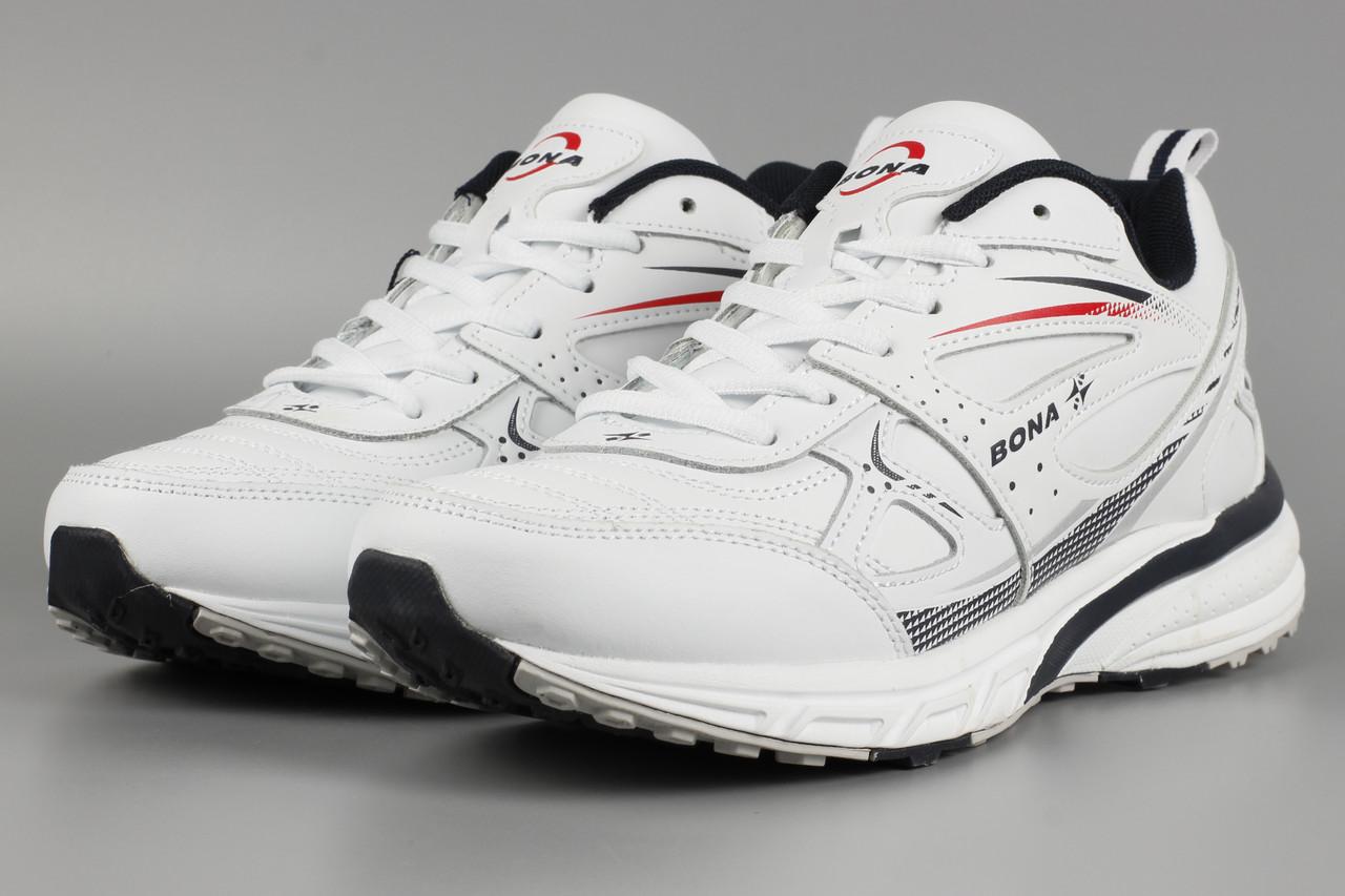 Кросівки унісекс жіночі білі Bona 725A-2 Бона Розміри 36 37 38 39 41