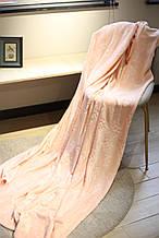 Плед флисовый Bella Villa 160х200 см нежно-розовый