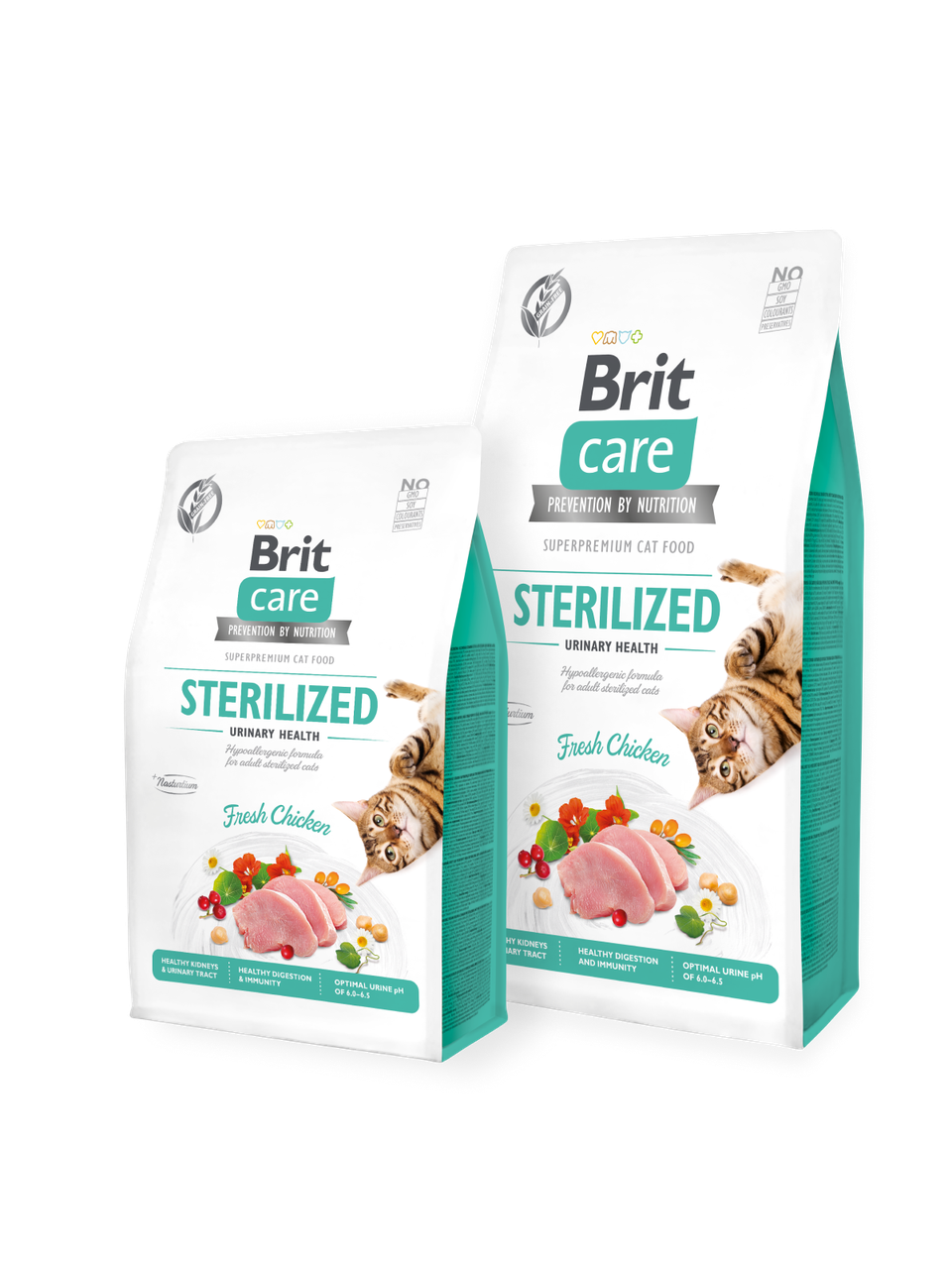 Корм для котов Brit Care Cat Grain-Free STERILIZED URINARY HEALTH 7кг