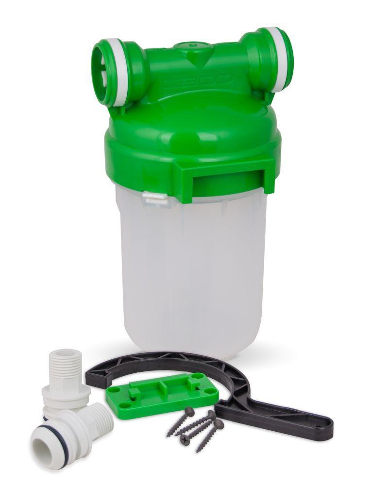 """ЗВІД Корпус магістрального фільтра 5"""" для холодної води (Smart - підключення)"""