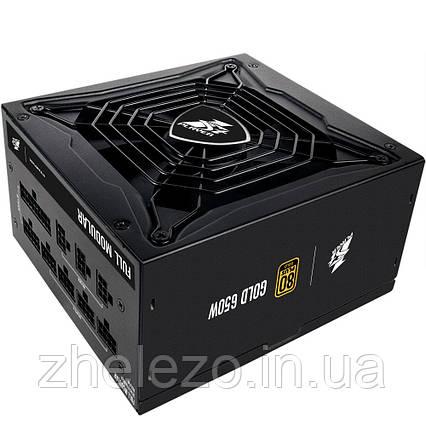 Блок живлення 1stPlayer PS-650SP 650W, 80+ Gold, 14cm fan, фото 2