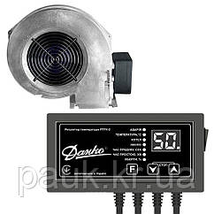 Автоматика для твердотопливного котла: вентилятор и контроллер температуры, автоматика на котел