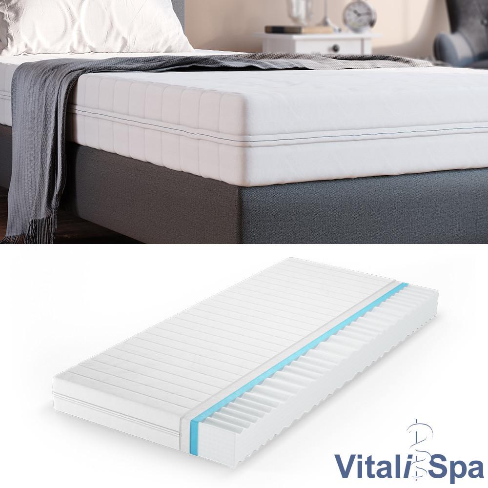 VitaliSpa матрац з холодної піни Calma Comfort, 7 зон, 100x200, щільність H2