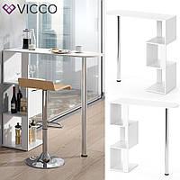 Барный столик 113х112 Vicco Vincent, белый
