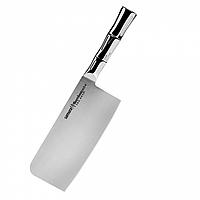 Нож-топорик кухонный для мяса  Samura Bamboo 180 мм (SBA-0040), фото 1