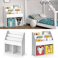 Детский комод Vicco Luigi, 72x79, белый