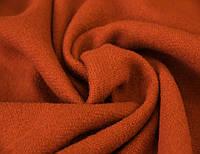 Пальтовая ткань итальянская шерстяная натуральная оранжевый однотонная DOK 10, фото 1