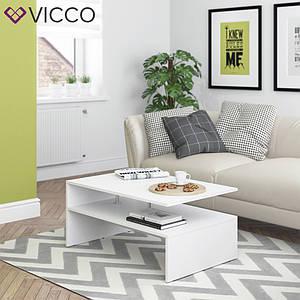 Журнальный стол 90x60 Vicco Amato, белый