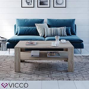 Журнальный стол с полкой 100x60 Vicco Gabriel, сонома