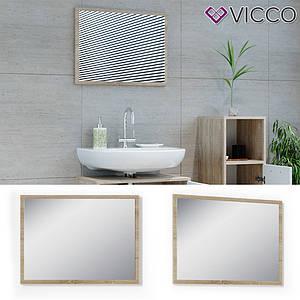 Зеркало в ванную, 45x60 Vicco, сонома