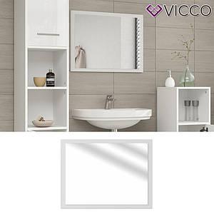 Зеркало для ванной, 45x60 Vicco, белый глянец