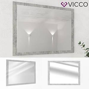Зеркало для ванной, 45x60 Vicco, бетон