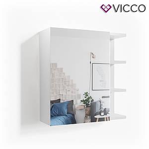 Зеркальный шкаф в ванную 64x62 Vicсo Fynn, белый