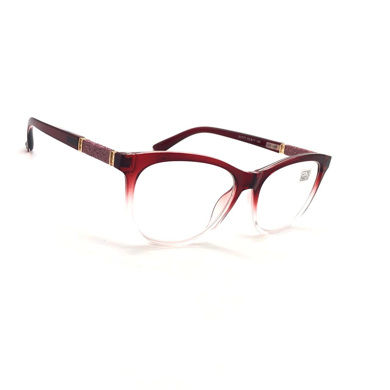 Женские очки с линзой blue-blocker 771