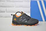 Кроссовки подростковые/женские серые сетка в стиле Adidas Springblade унисекс, фото 2