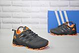 Кроссовки подростковые/женские серые сетка в стиле Adidas Springblade унисекс, фото 5