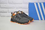 Кроссовки подростковые/женские серые сетка в стиле Adidas Springblade унисекс, фото 4